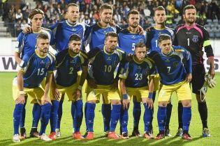 Збірна Косова визначилася зі складом на битву проти України