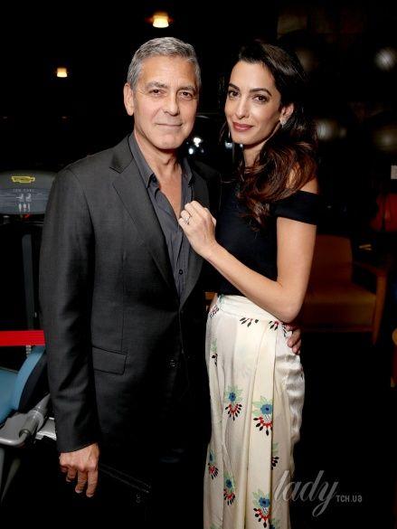 Джордж и Амаль Клуни_1