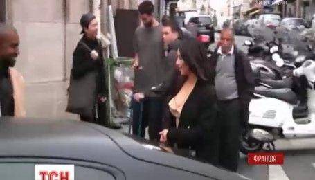 Кім Кардашьян пограбували в Парижі