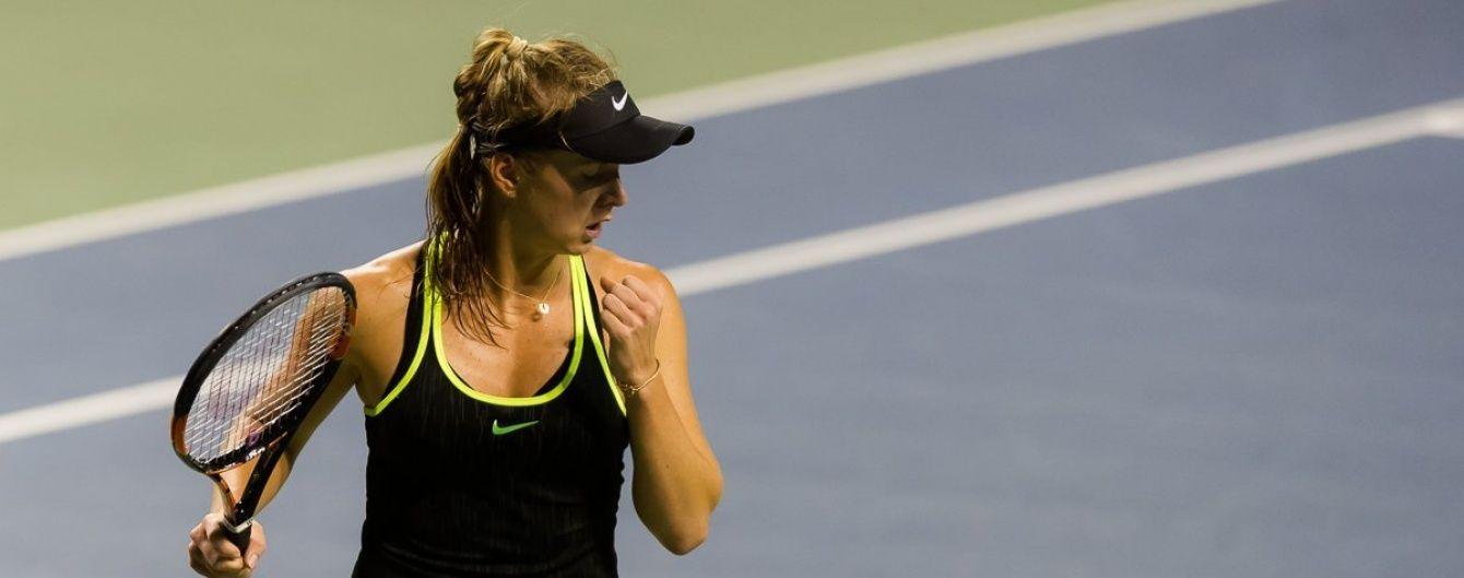 Українська тенісистка Світоліна боротиметься за 1/8 фіналу турніру в Пекіні