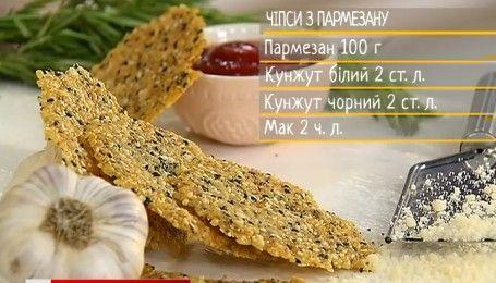 Чипсы из пармезана - рецепты Сеничкина