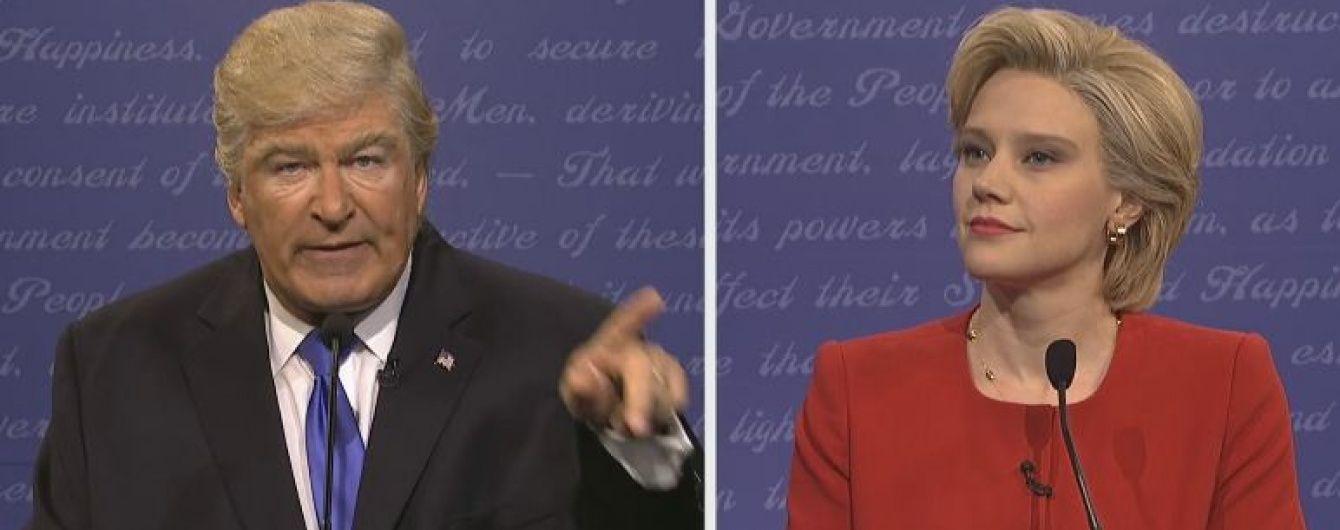 Алек Болдуїн майстерно спародіював Дональда Трампа під час дебатів