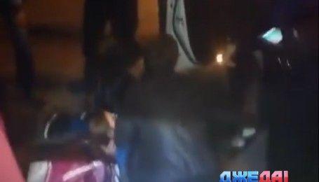 Кременчугские полицейские во время погони за нарушителем сбили девушку