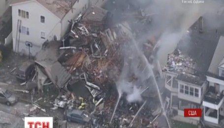 Мощный взрыв прогремел в американском штате Нью-Джерси
