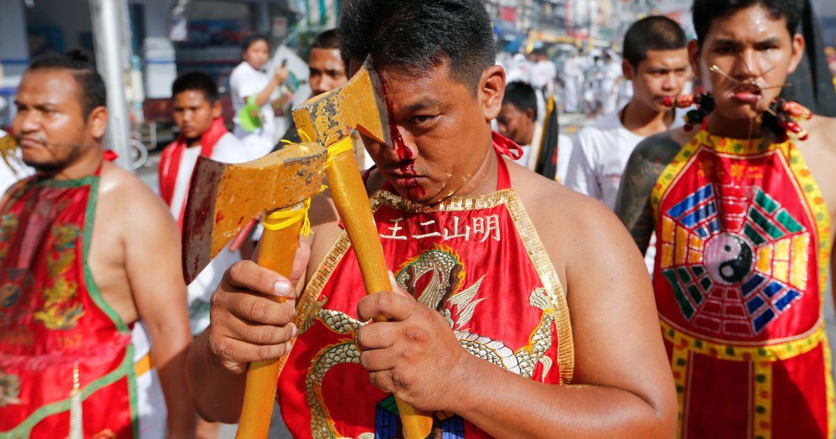 Фото фестиваля в Таиланде