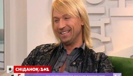 """В гостях у """"Сніданку з 1+1"""" Олег Винник"""