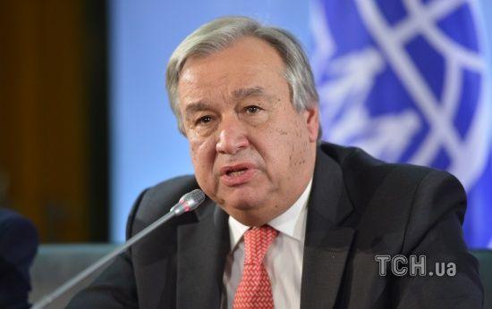 Генсек ООН відреагував на рішення Путіна видавати російські паспорти в ОРДЛО
