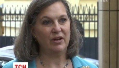 Виктория Нуланд в Москве обсудила выполнение Минских договоренностей