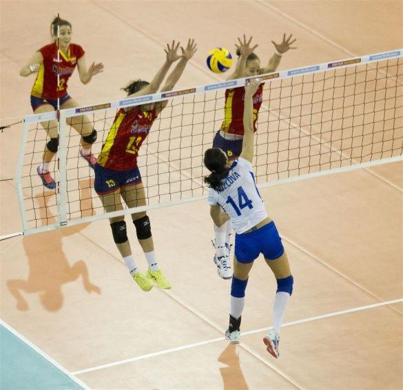 Іспанія - Україна волейбол