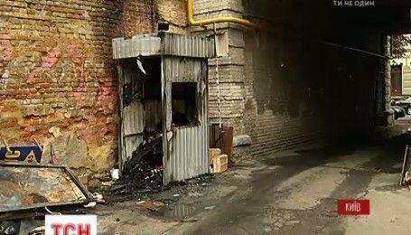 В центре Киева человек погиб в пожаре