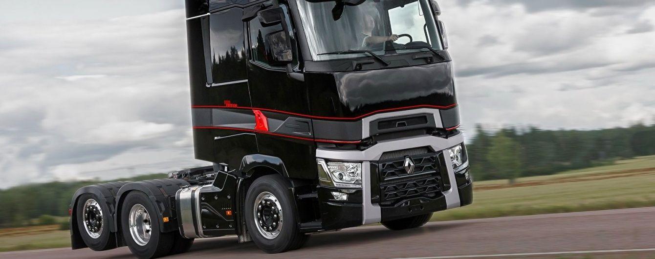 Renault Trucks выпустила спецверсию магистрального тягача T ... 227688b9ffe