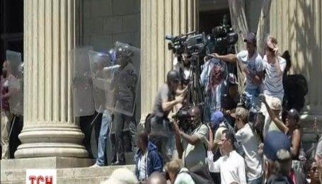 В Северной Африке произошли столкновения студентов с полицией