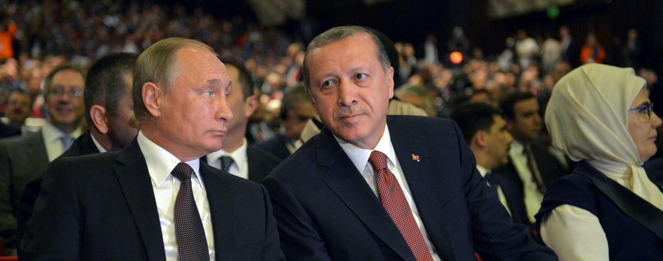 Путін побачиться з Ердоганом замість зустрічі з Трампом