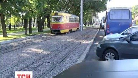 Полиция начала уголовное производство по факту гибели девочки, попавшей под трамвай