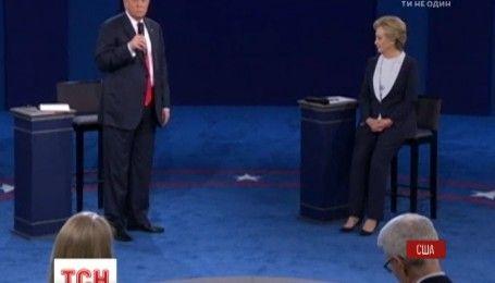 Скандал вокруг Трампа и его поведения с женщинами повлиял на результаты предвыборных дебатов