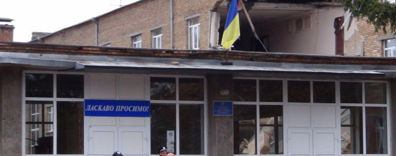 У Василькові змінилися версії обвалу школи
