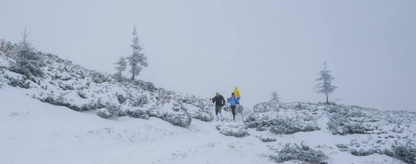 Карпати засипле снігом, а половину України заллють дощі. Штормове попередження на 12 жовтня