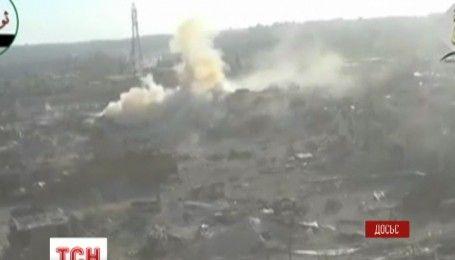 Росія поновила важкі бомбардування в сирійському Алеппо