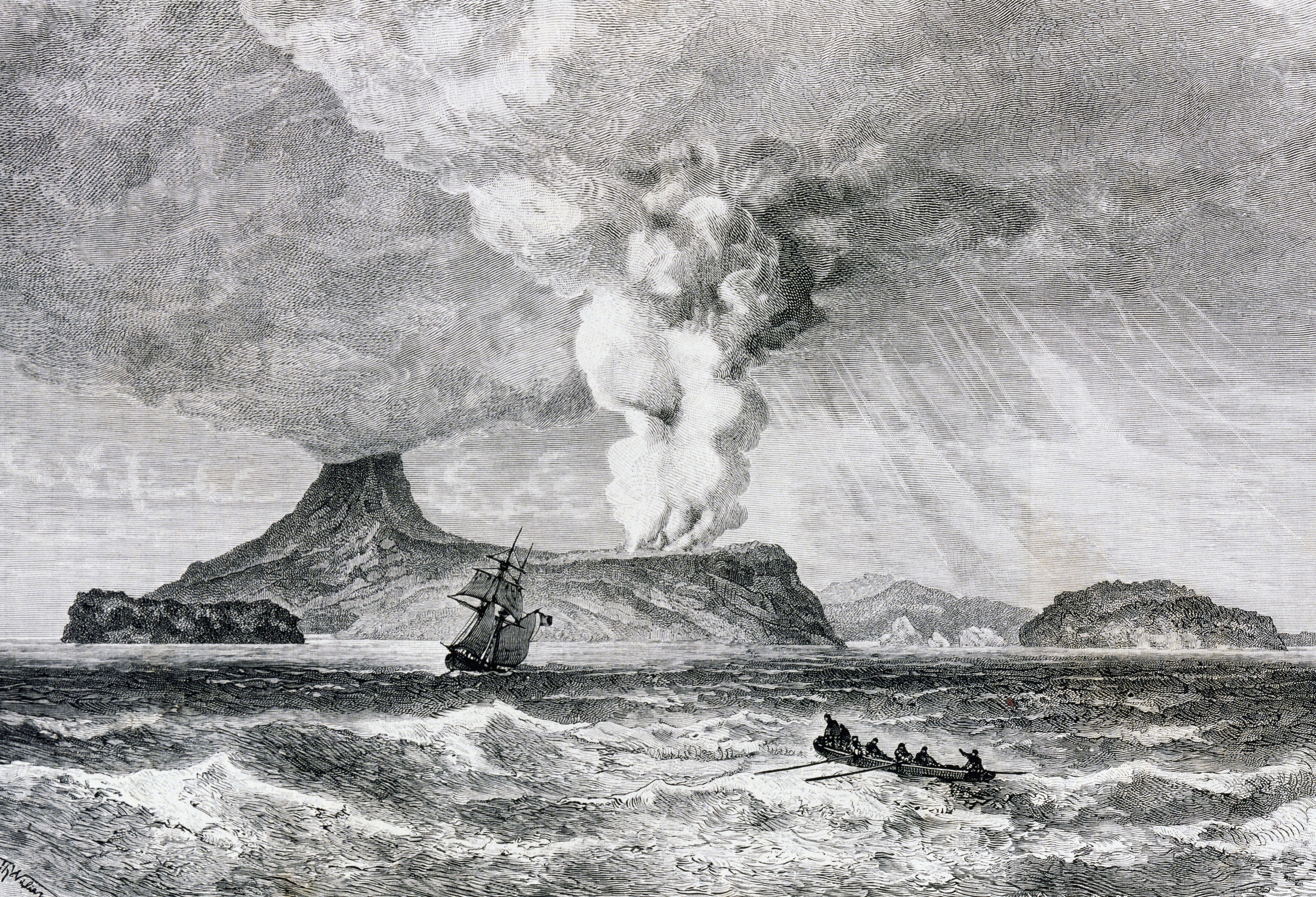 Извержение Кракатау. 1883 год