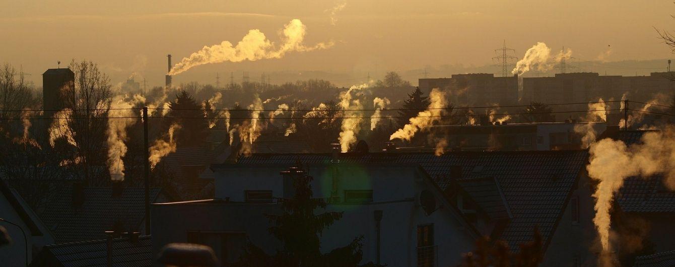Где в Украине наиболее чисто: рейтинг загрязненности областей. Инфографика