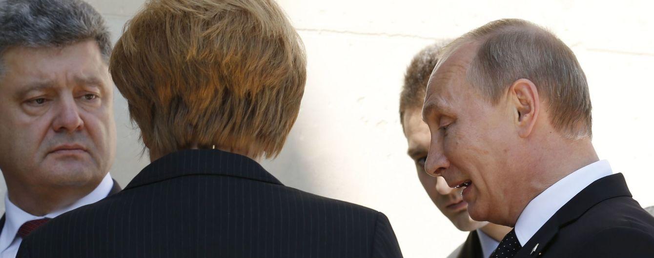Порошенко позвонил Путину. О чем говорили президенты