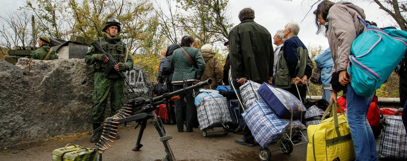 Боевики сорвали разведение сил в Станице Луганской, обстреляв позиции украинских военных