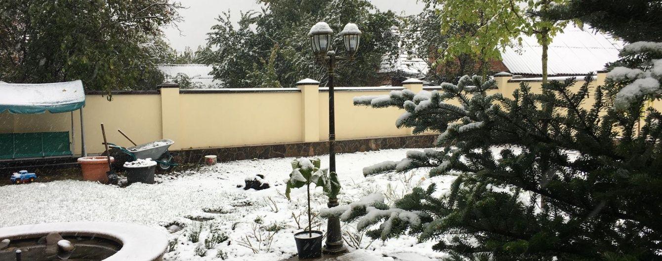 Украину посреди ночи заляпает мокрым снегом. Прогноз погоды на 14 октября
