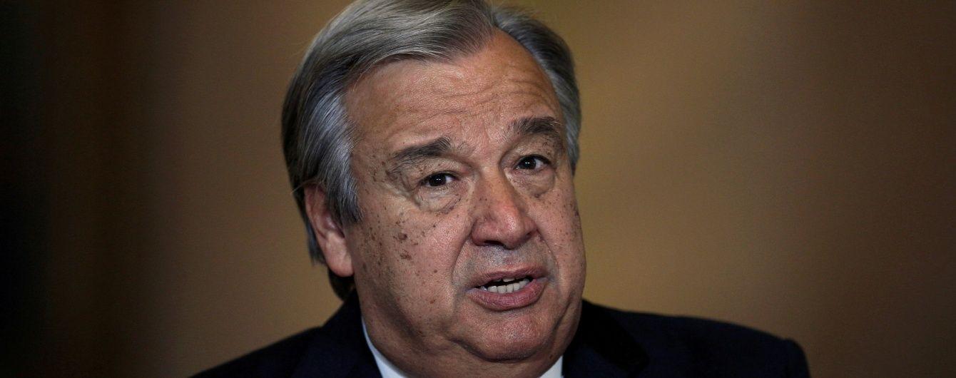 Мировой порядок становится все более хаотичным - генсек ООН