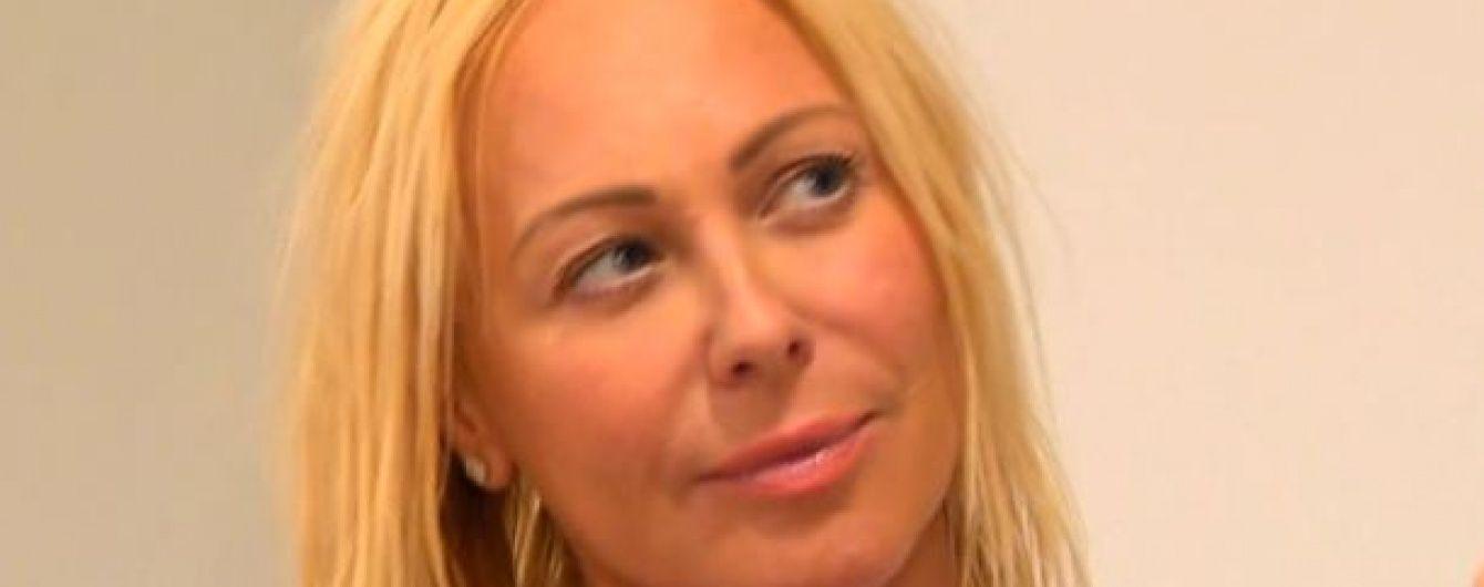 Альонова зізналася, що ділить доньку із Шовковським у суді