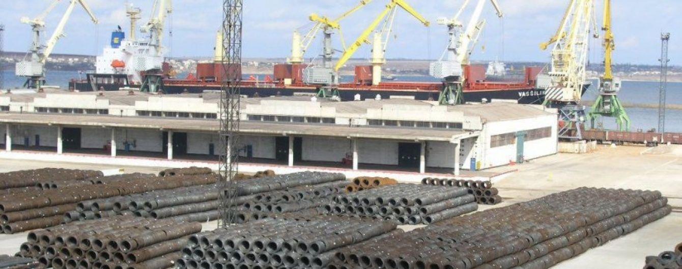 """Мінінфраструктури декомунізувало морський порт """"Октябрськ"""""""