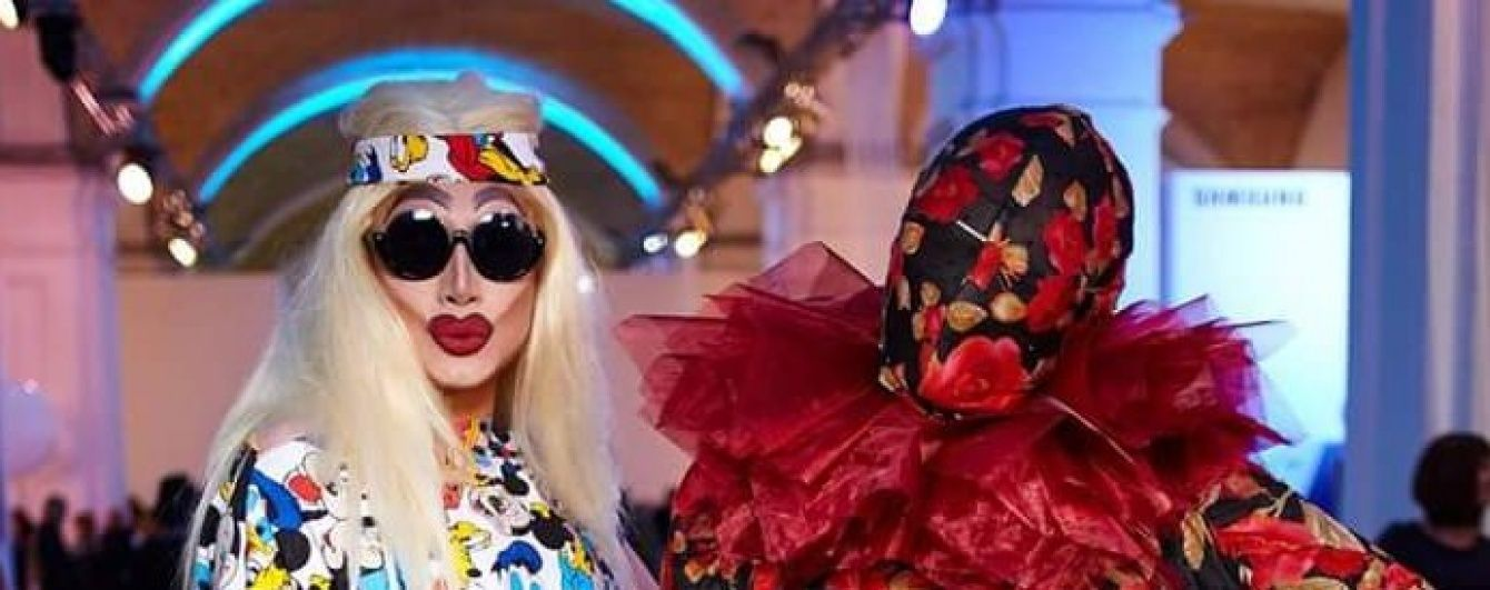 Впечатляет: Мадам Жужу и Guppy Drink вышли в свет в эпатажных нарядах