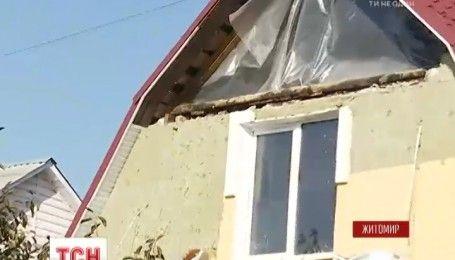 В частном доме в Житомире произошел взрыв