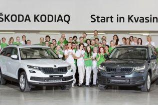 В Чехии стартовало производство Skoda Kodiaq
