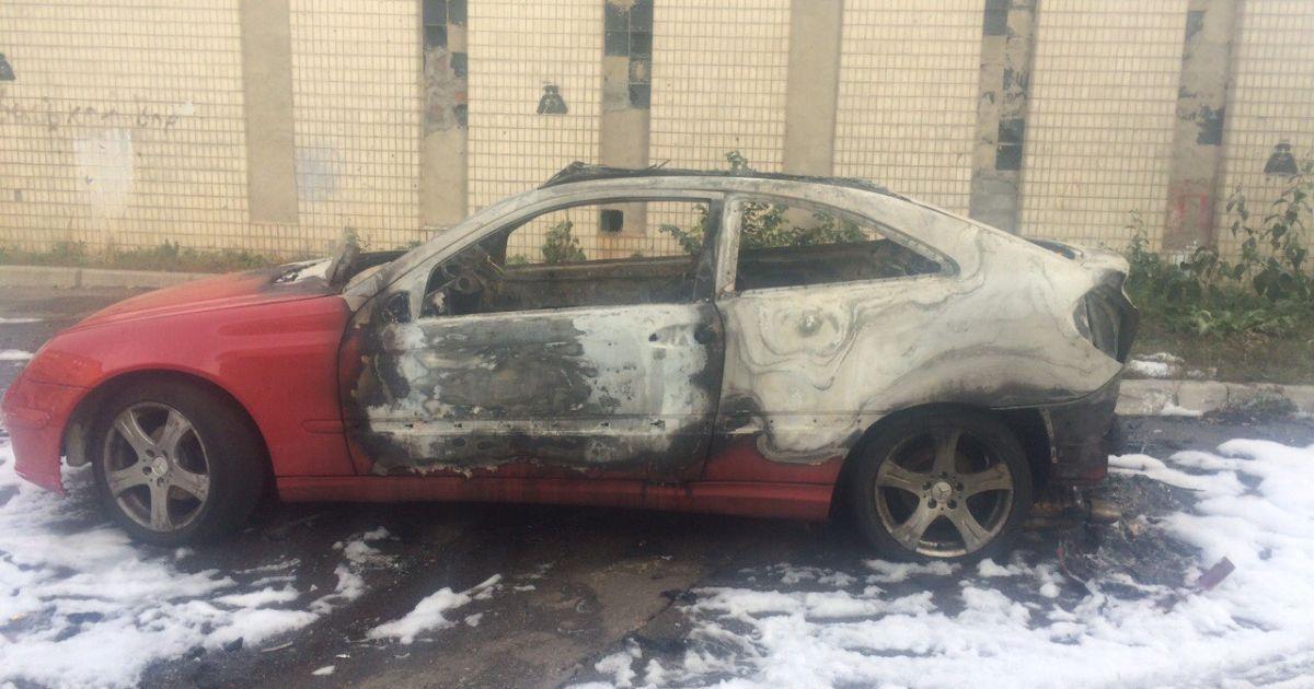 Сожженное авто Ескиной @ ТСН/Татьяна Боковня