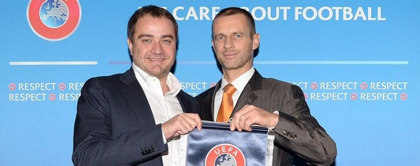 Новий президент УЄФА приїде на матч Україна - Фінляндія