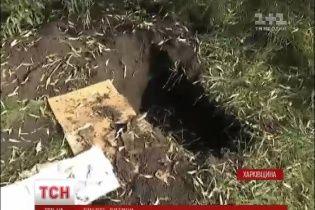 Під Харковом чоловік закопав немовля та з Росії розповів поліцейським про могилу