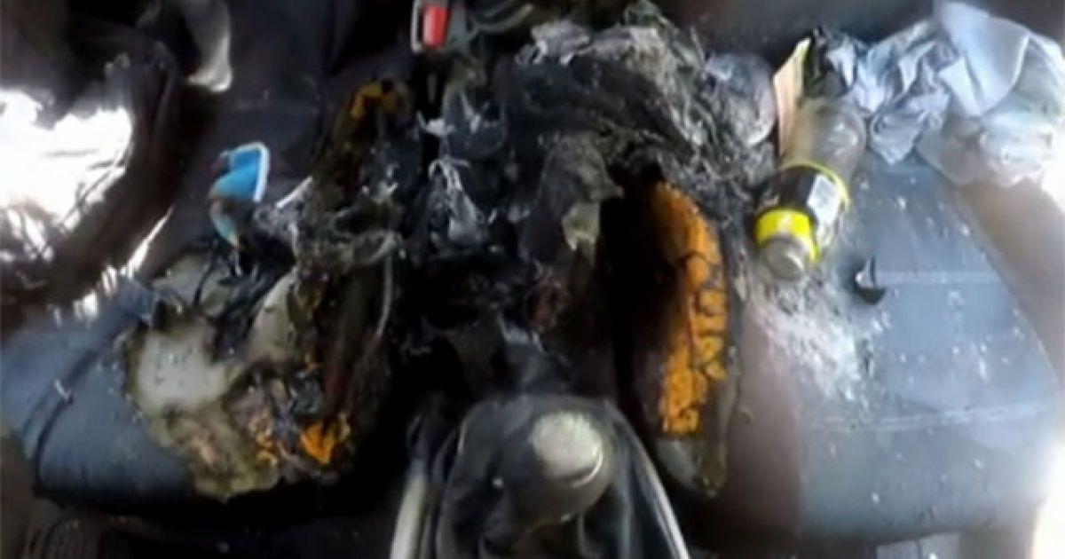 Автомобіль, у якому вибухнув іPhone7 @ yahoo.com