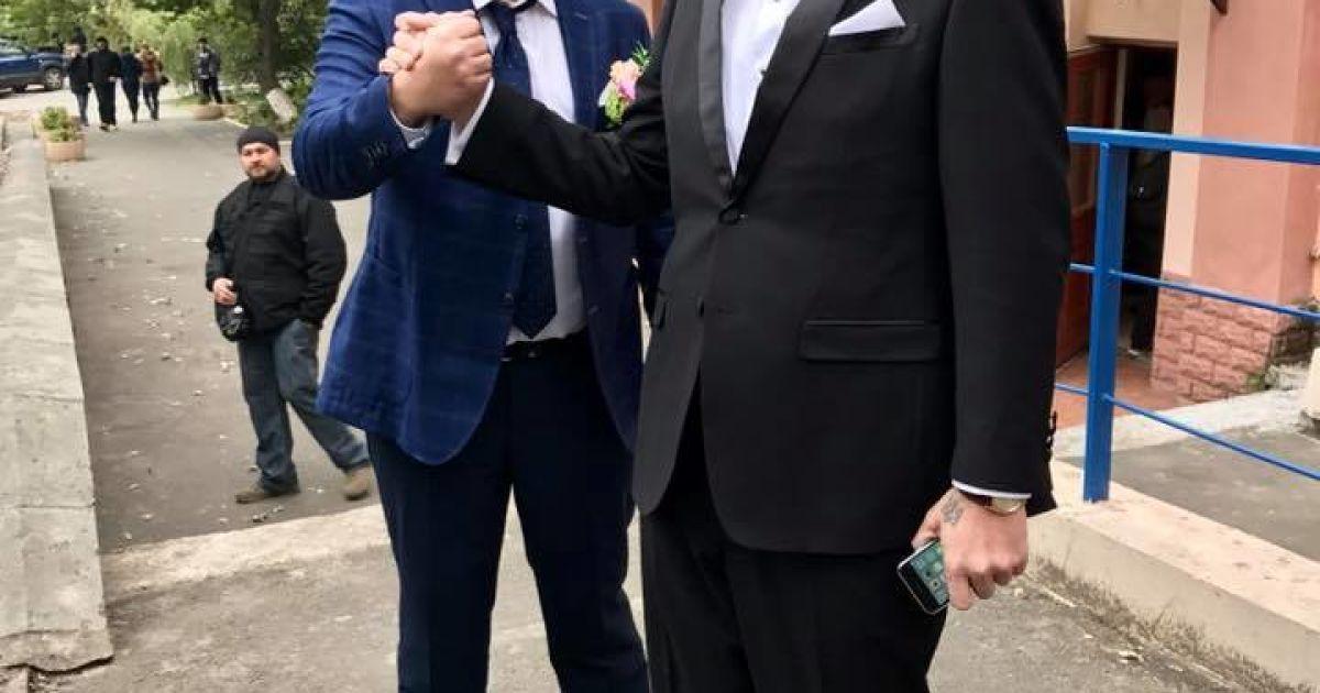 Весілля Мосійчука @ facebook/Андрій Лозовий