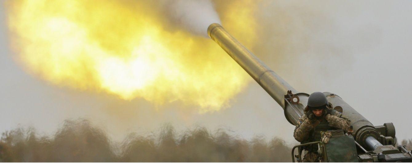 Штаб ООС показав, як українські військові тренувалися відбивати авіаудар на приморському напрямку