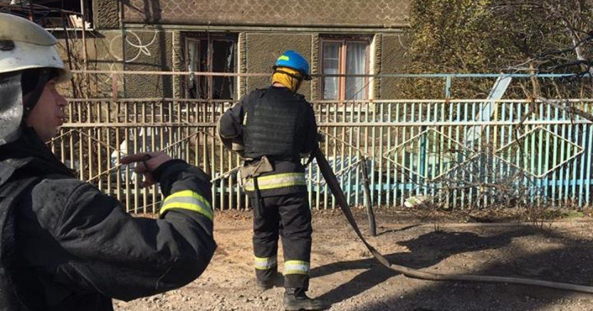 Наслідки обстрілу Талаківки @ facebook.com/Вячеслав Аброськін