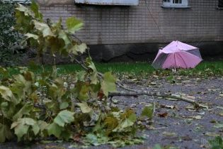 На Україну насувається буревій