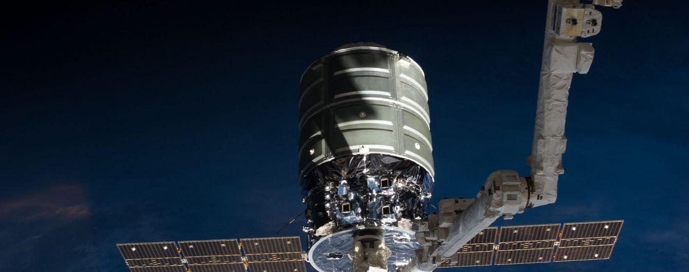 Космічний корабель Cygnus  з українським першим ступенем успішно зістикувався з МКС