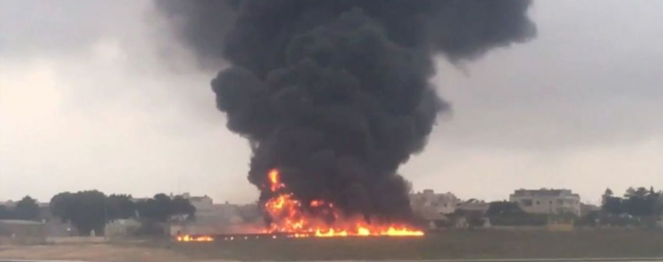 На Мальті розбився легкомоторний літак із прикордонниками ЄС - ЗМІ