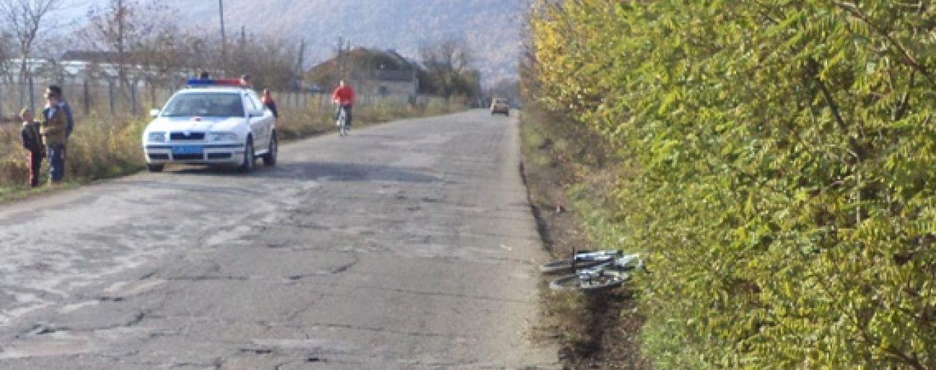 На Закарпатті водій Volkswagen збив на смерть 10-річного велосипедиста