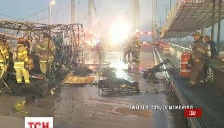 В Нью-Джерси сгорел грузовик с наркотическими конфетами