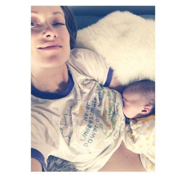 Олівія Вайлд  з донькою 2