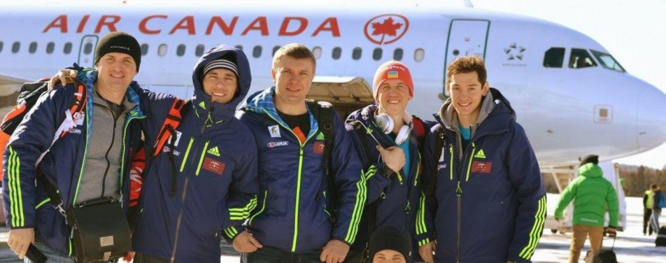 Українські біатлоністи вирушили на збір перед стартом сезону