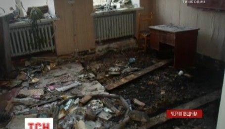 В школе на Черниговщине произошел масштабный пожар