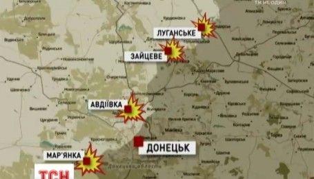 За добу шестеро українських військових дістали поранення на Донбасі