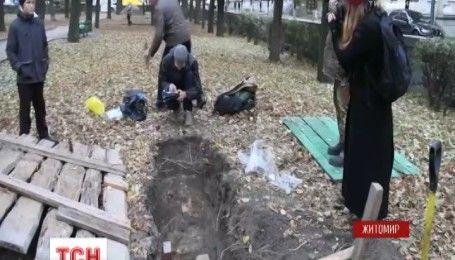 В Житомире археологи во время раскопок наткнулись на удивительные находки